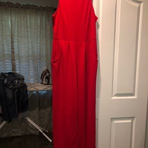 Red Jumpsuit NWT